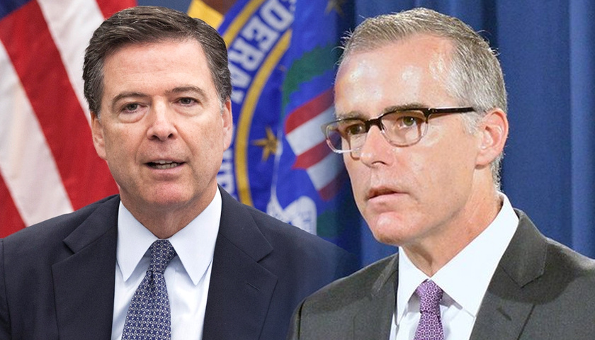James Comey, Andrew McCabe