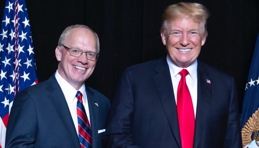 John Rose and Donald Trump