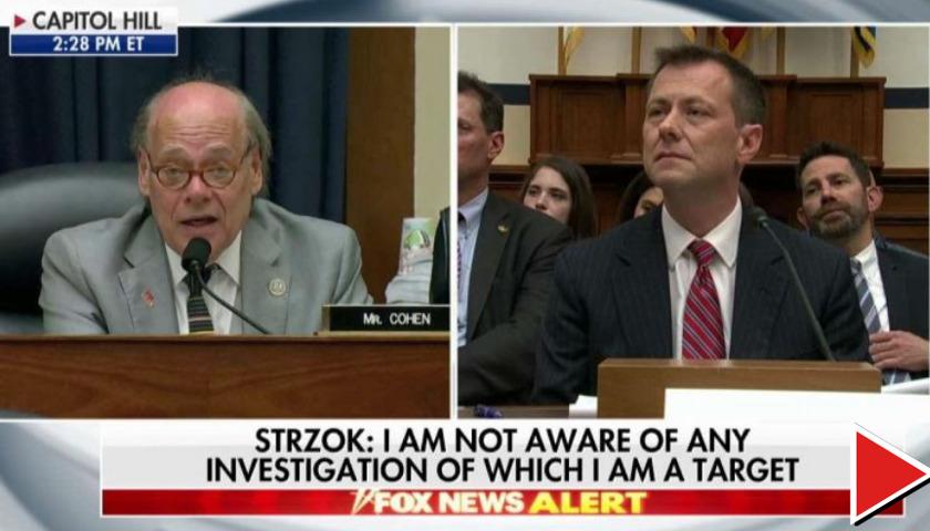 Steve Cohen, Peter Strzok
