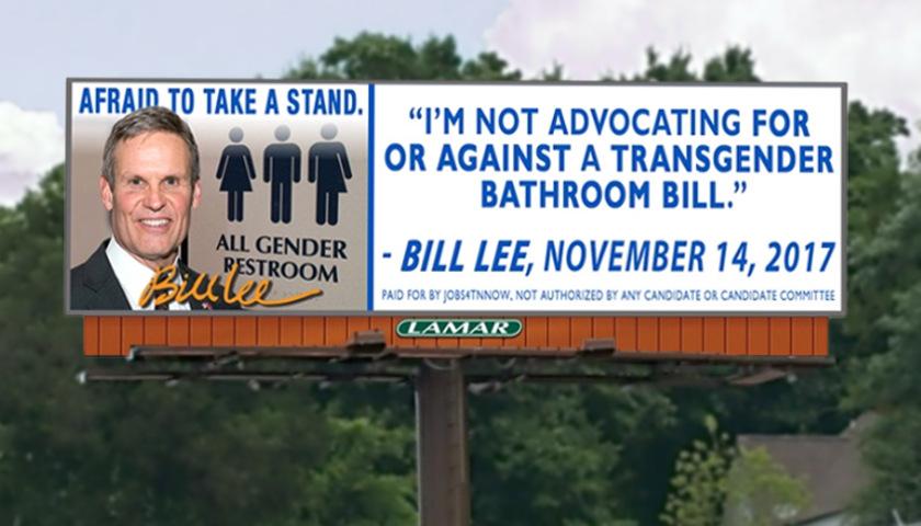 anti-Bill Lee billboard