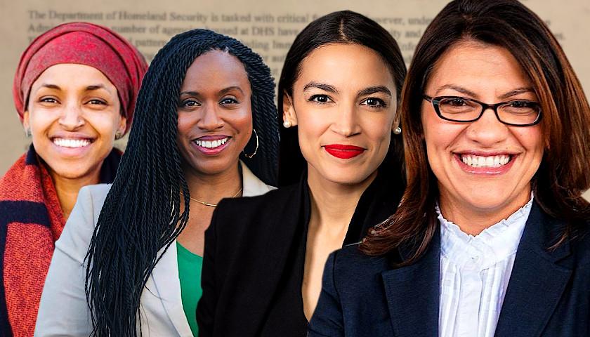 Image result for Alexandria Ocasio-Cortez, Ilhan Omar, Ayanna Pressley and Rashida Tlaib.