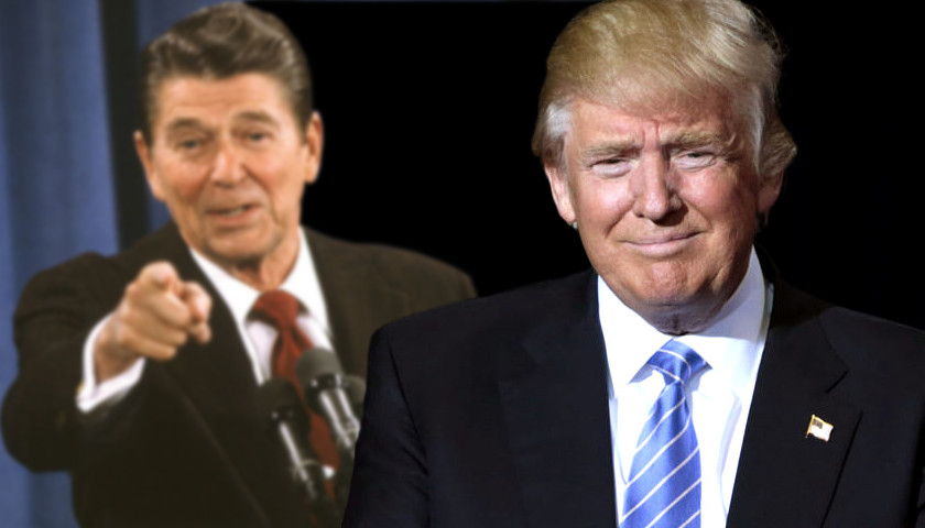 Ronald Reagan, Donald Trump