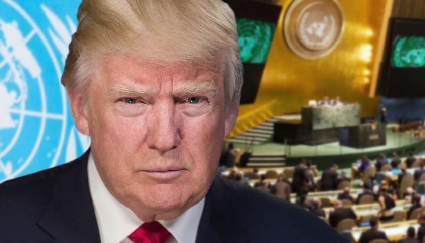 Trump at UN