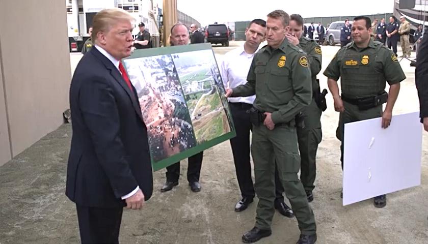 Donald Trump, The Wall