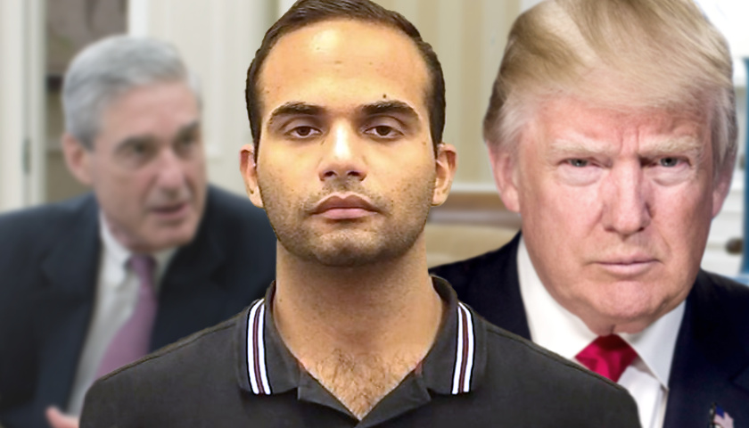 Robert Mueller, George Papadopoulous, Donald Trump