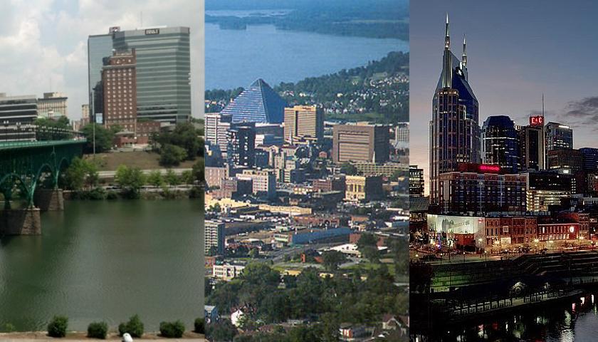 Knoxville Memphis Nashville