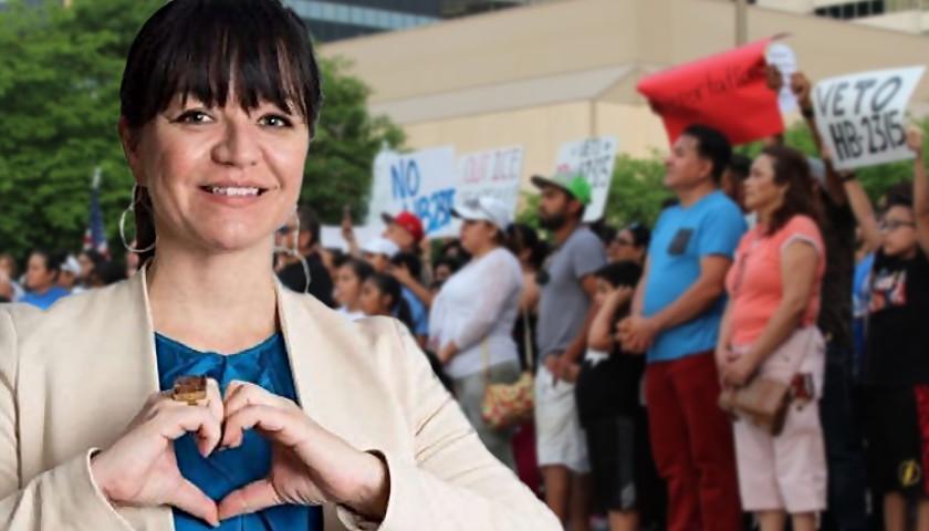 Renata Soto of TIRRC exaggerates HB2315 provisions