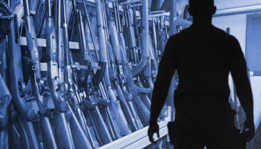 Firearms blue