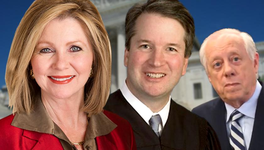 Marsha Blackburn, Brett Kavanaugh, Phil Bredesen