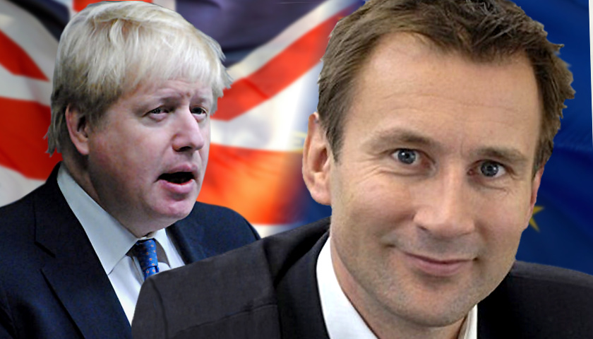 Jeremy Hunt, Boris Johnson