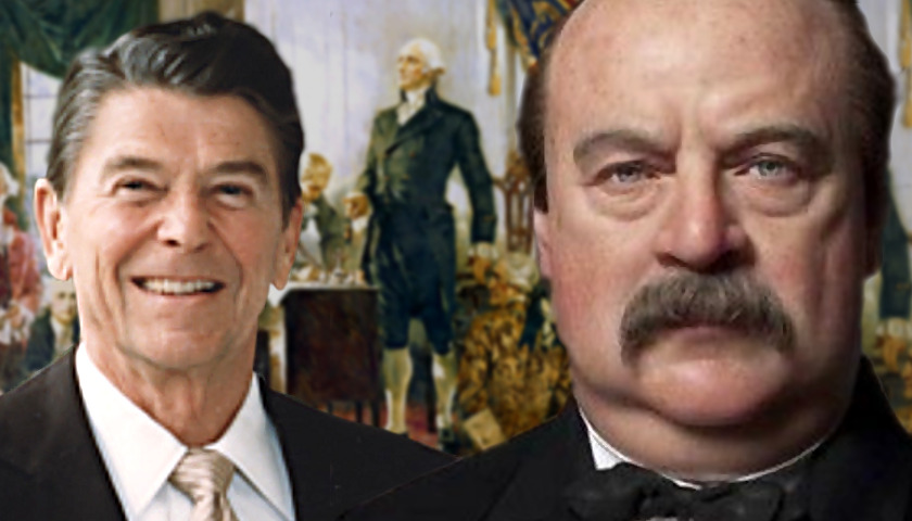 George Washington, Ronald Reagan, Grover Cleveland