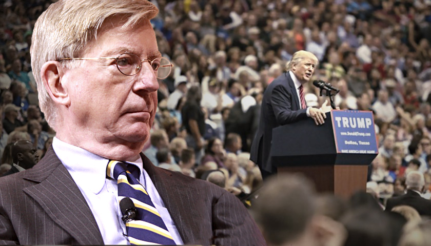 George Will, Donald Trump