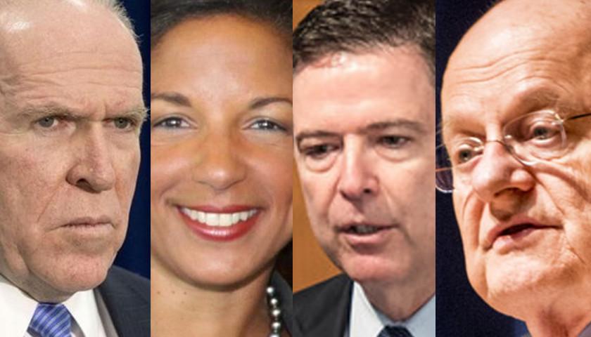 Brennan, Rice, Comey, Clapper