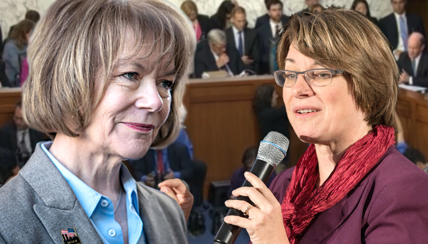 Tina Smith, Amy Klobuchar