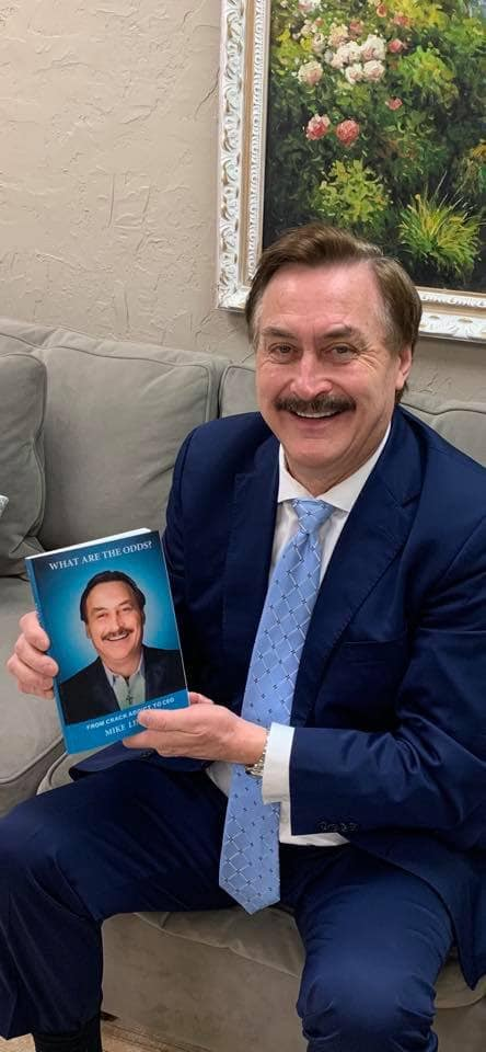 mike lindell addiction brink his him nearly losing brought including everything odds lindells