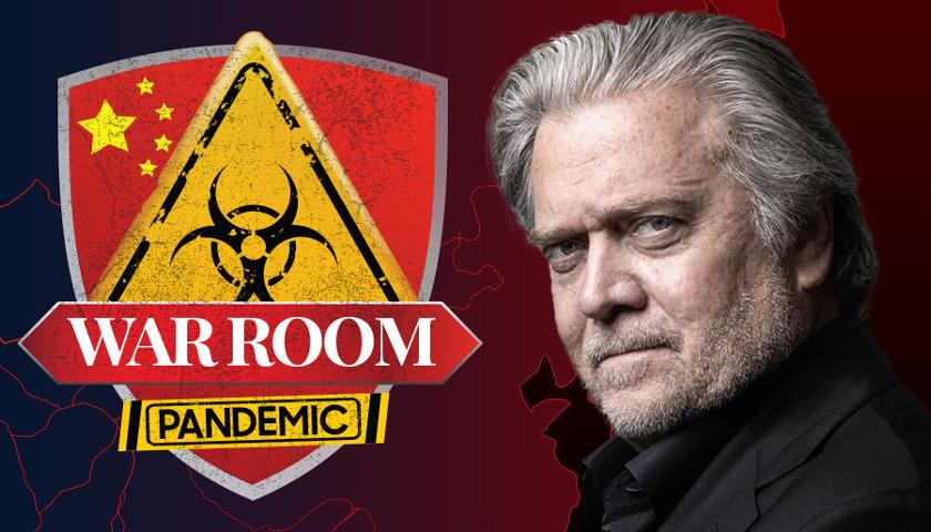 Steve Bannon Presents 'War Room: Pandemic' - The Minnesota Sun