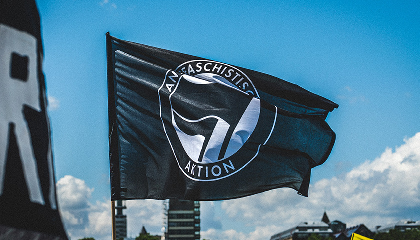 Antifa flag