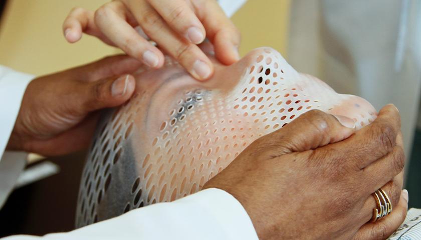 Patient receiving cancer screening