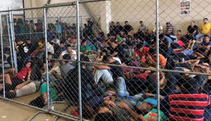 Migrant children at border
