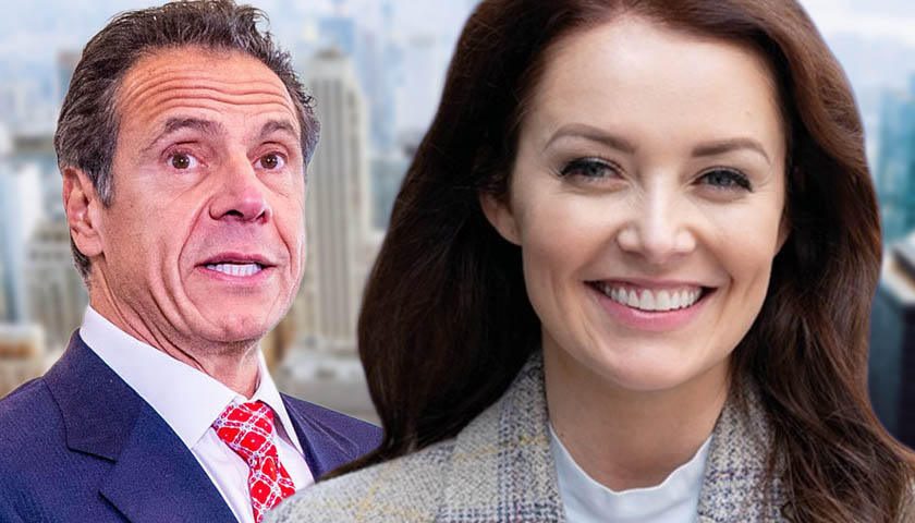 Andrew Cuomo and Lindsey Boylan