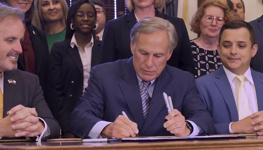 Gov. Greg Abbott signs law