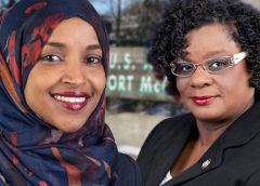 Ilhan Omar and Gwen Moore
