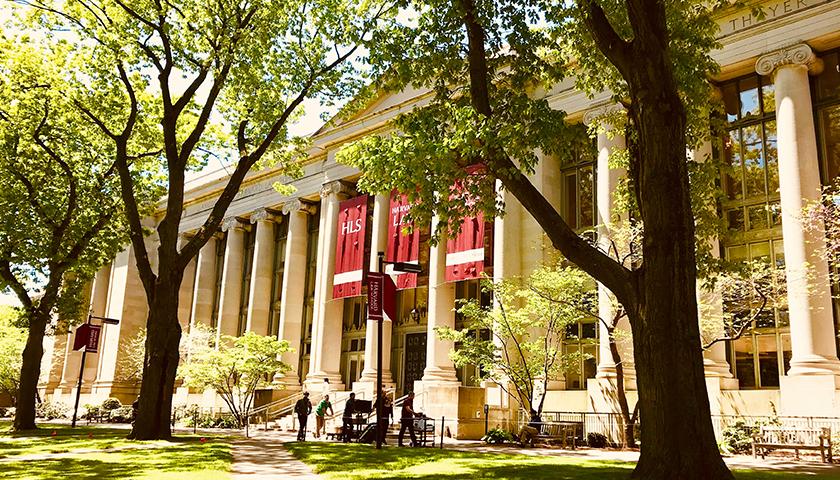 Outside of Harvard Law School