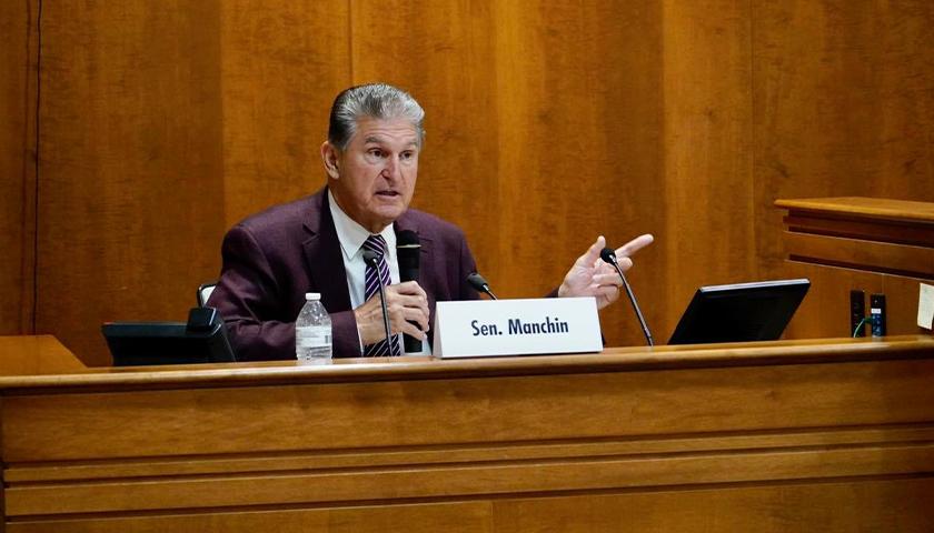 Senator Joe Manchin speaking